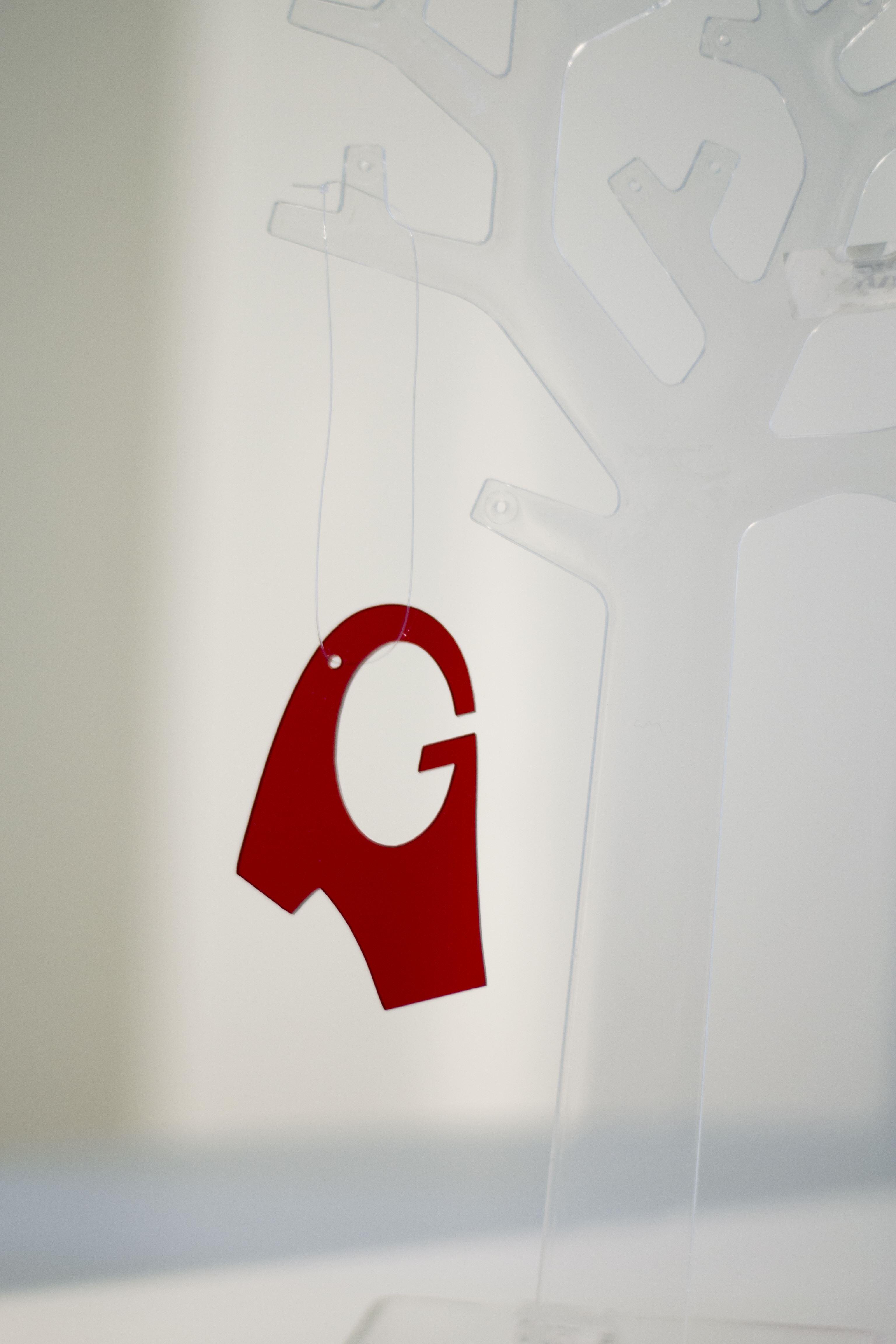 Julgransdekoration - Gävlesymbol