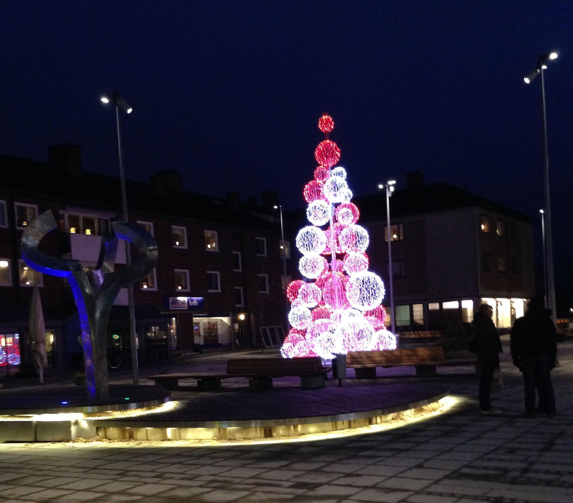 Weihnachtsmarkt in Ljungby