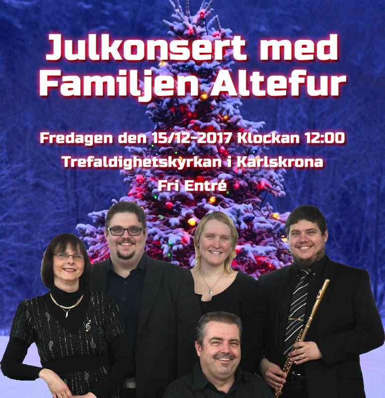 Family Altefur Christmas Concert