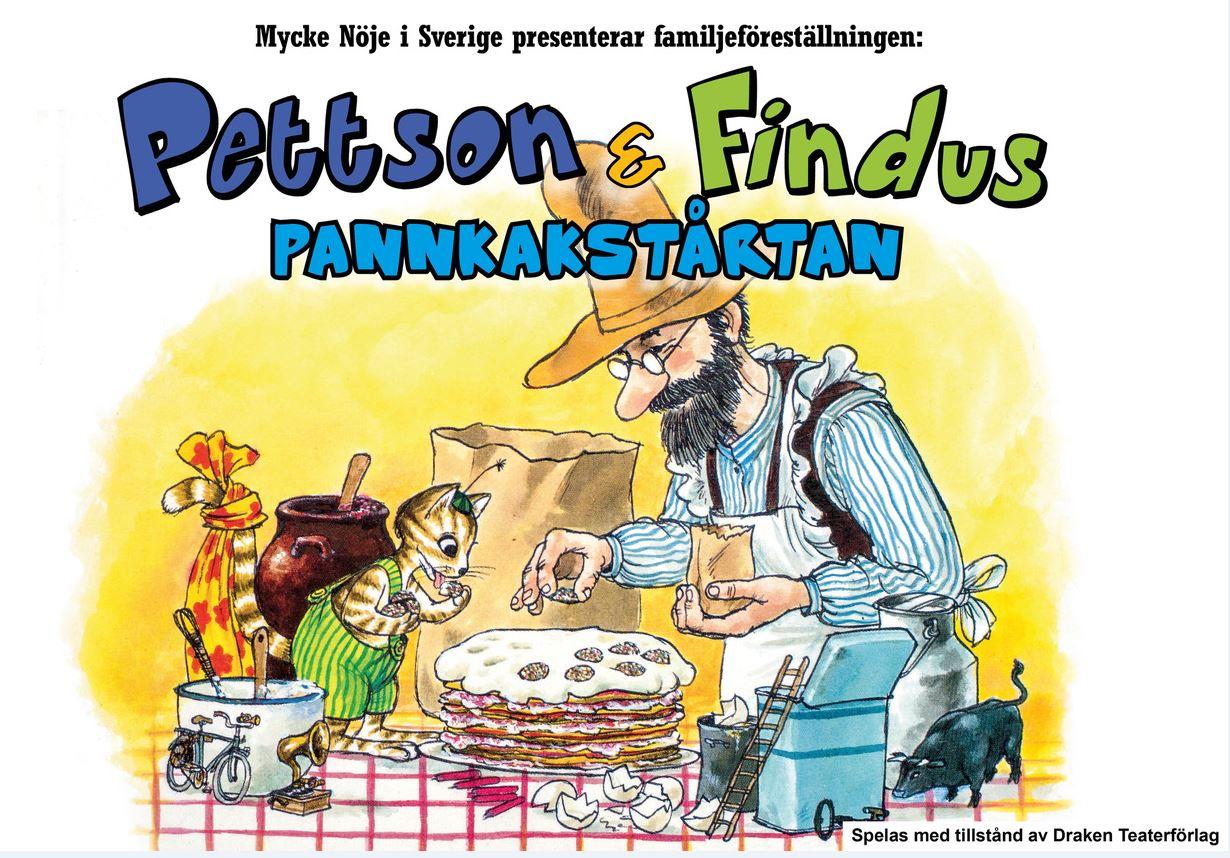 Teater - Pannkakstårtan