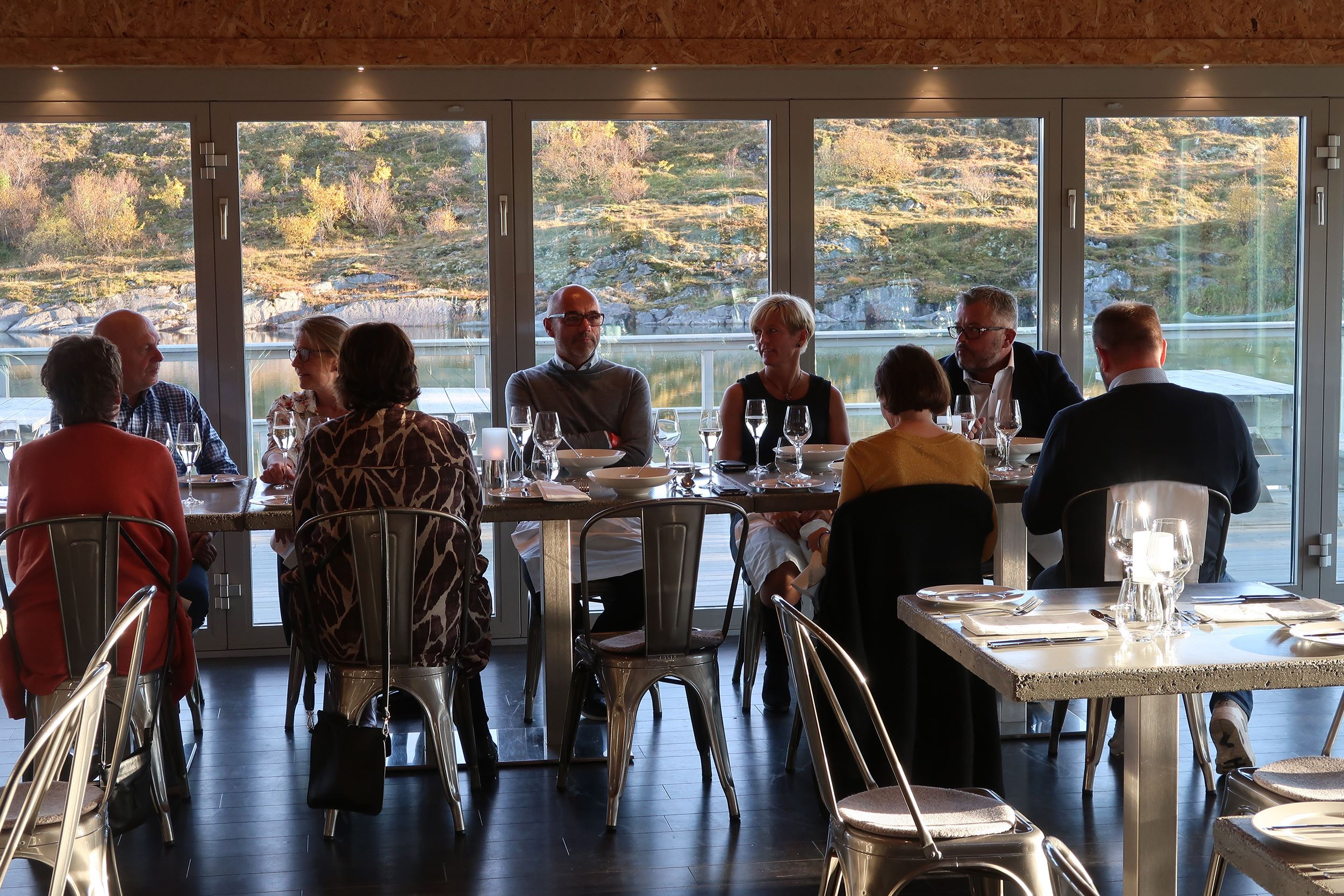 Restaurantopplevelse på Torghatten Strandrestaurant