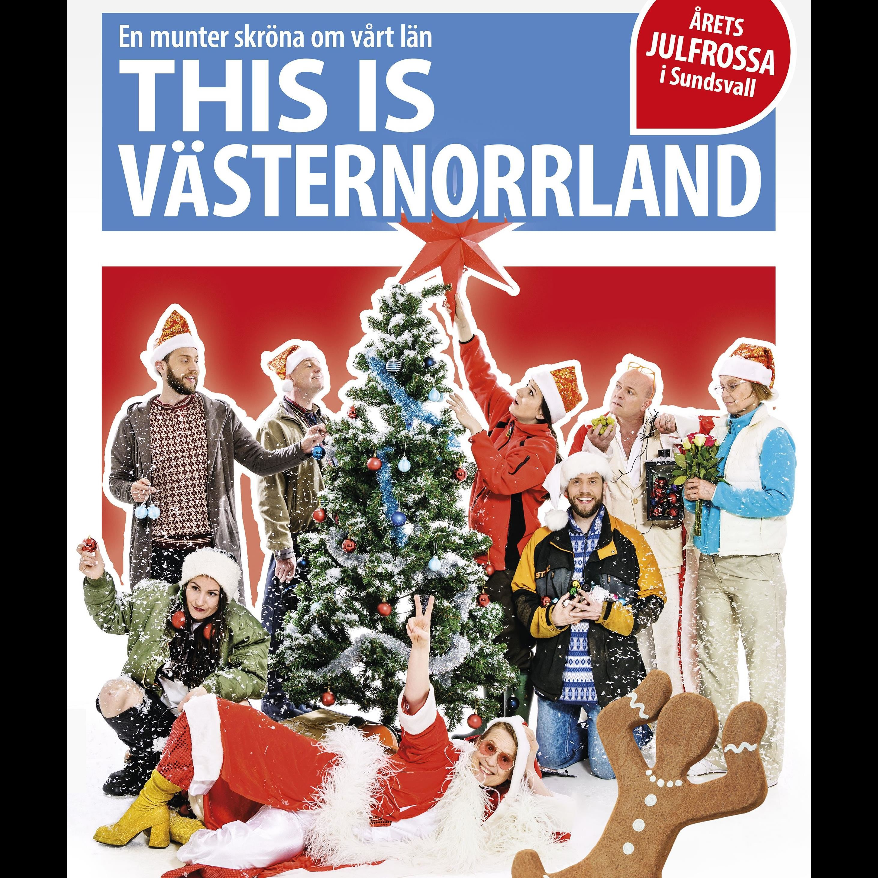 Julfrossa - This is Västernorrland - nu är det jul igen!