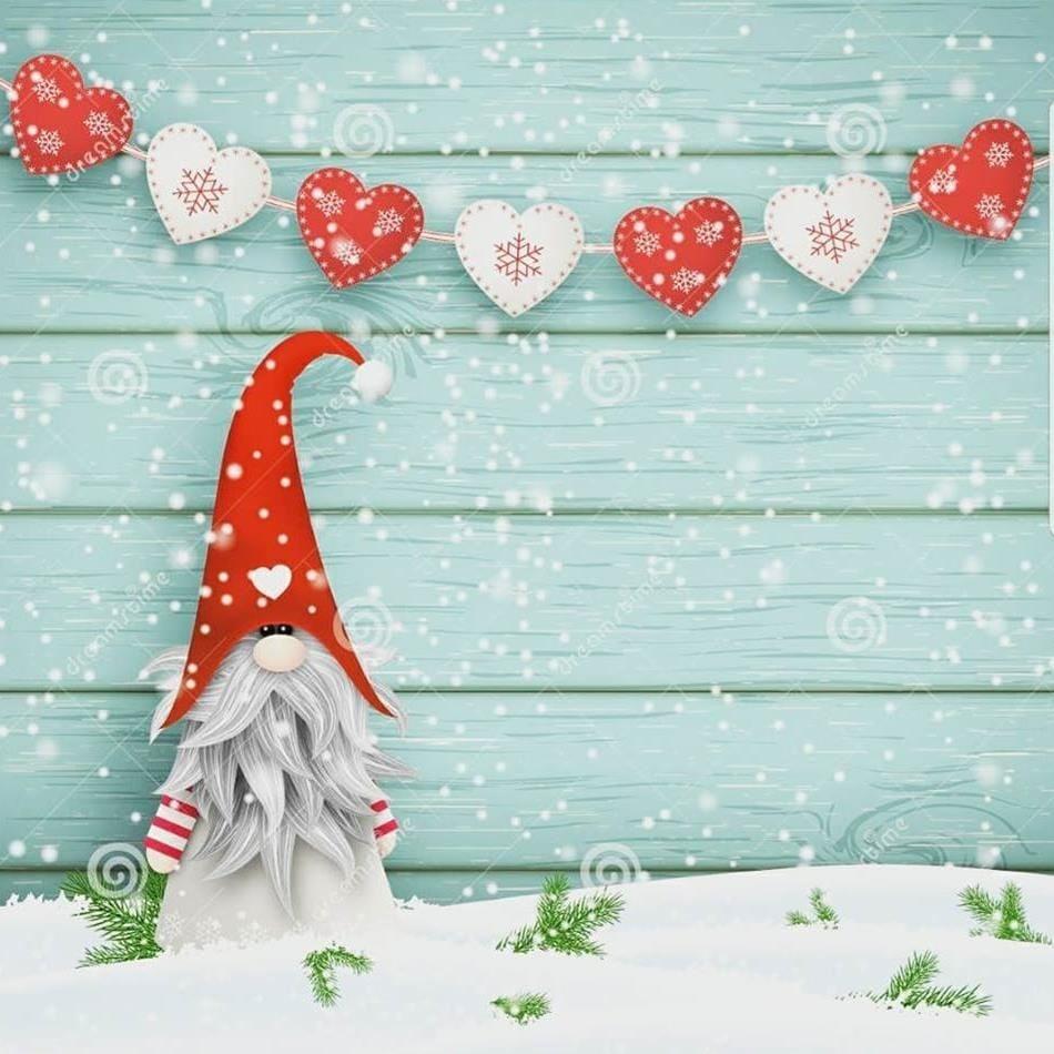 Jultallrik på Kanalkiosken