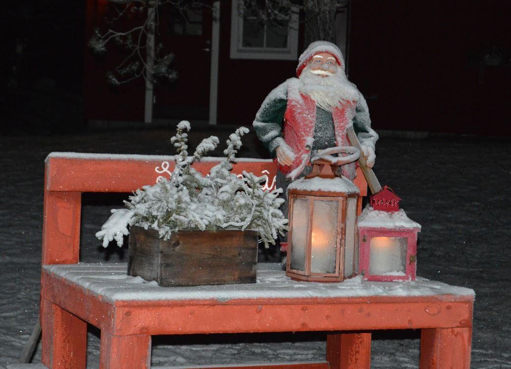 Julmarknad i Djurås Centrum