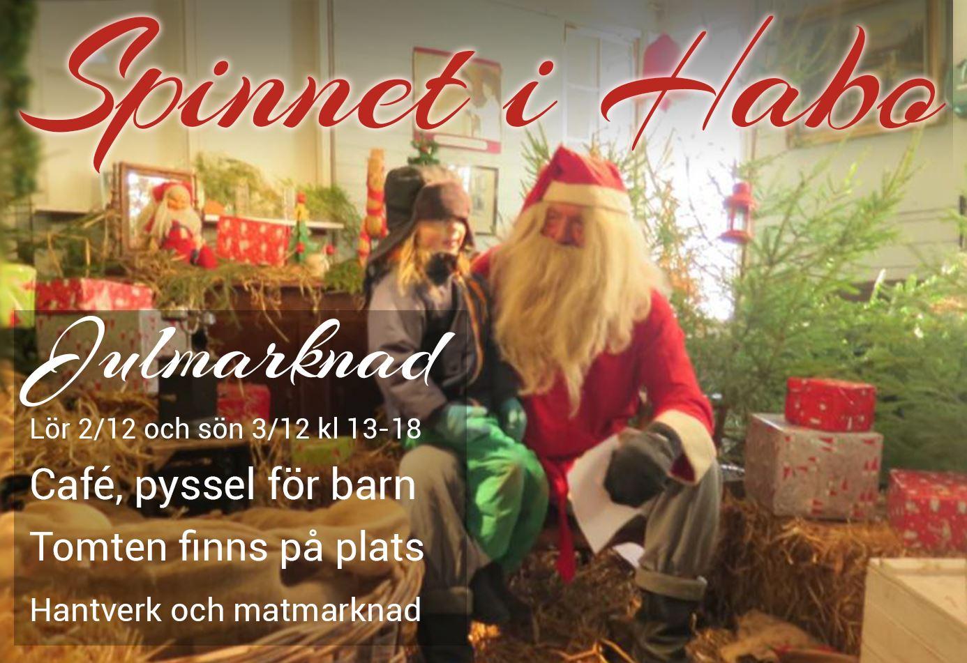 Julmarknad på Spinnet