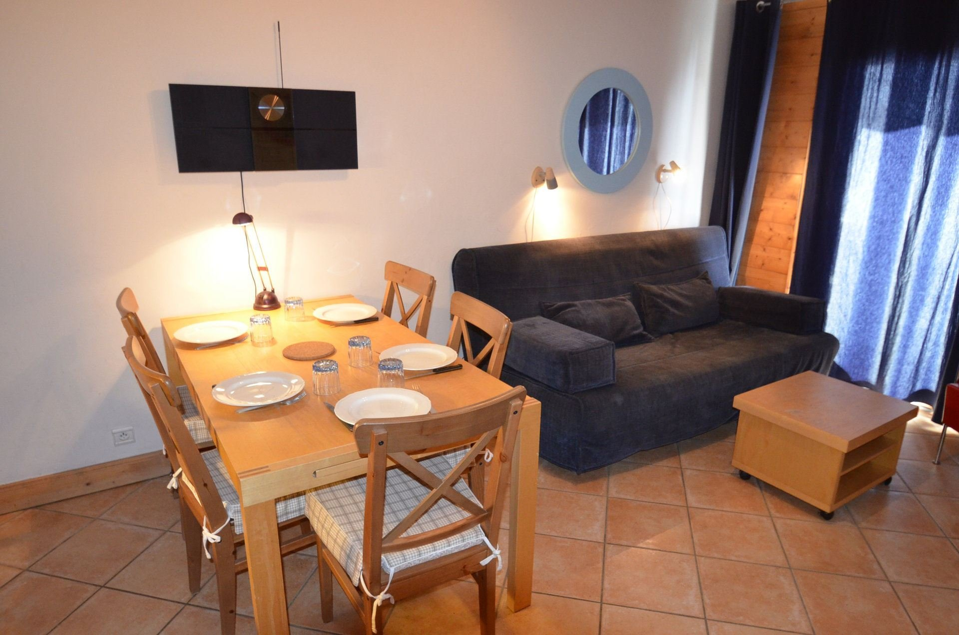 2 Rooms cabin 6 Pers ski-in ski-out / LES ALPAGES DE REBERTY 11