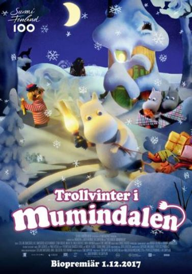 Trollvinter i Mumindalen