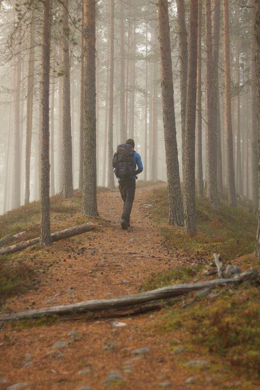 Petter Lämmås,  © Petter Lämmås, The Isälvsleden Trail