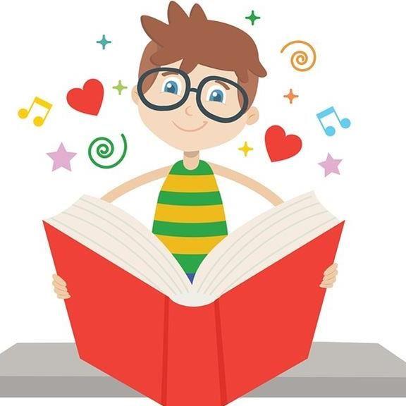 Läsande barn
