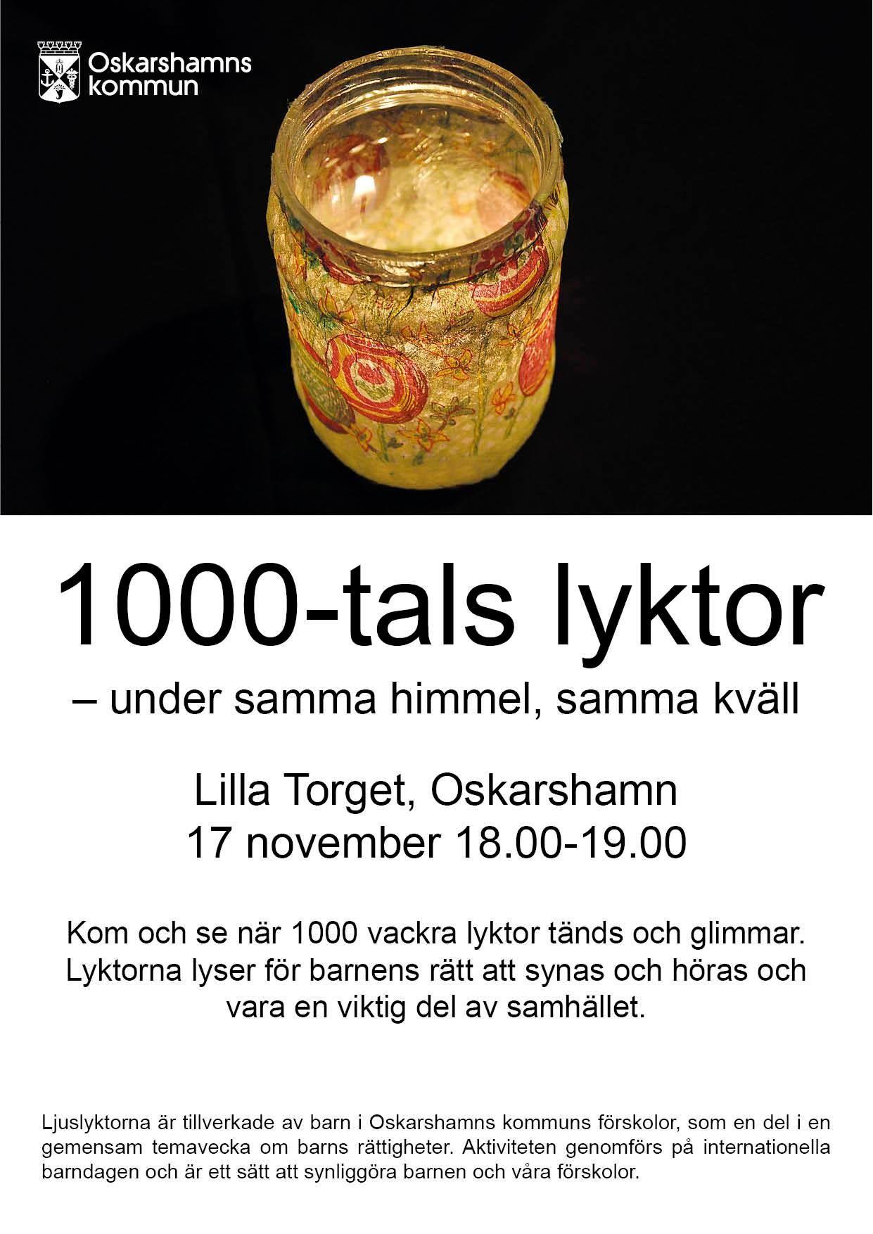 1000-tals lyktor