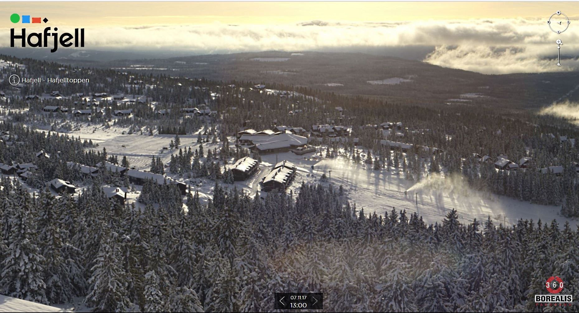 Opening of the ski season in Hafjell Norway