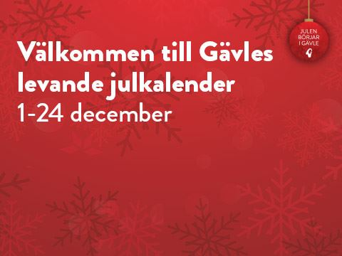 Gävle's Live Advent Calendar