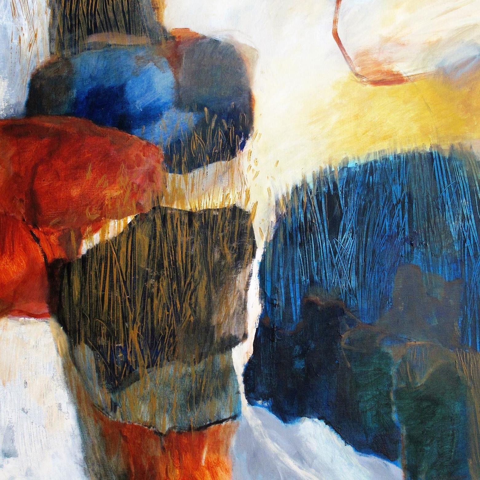 Konstutställning - Ann Blijdenstein, måleri