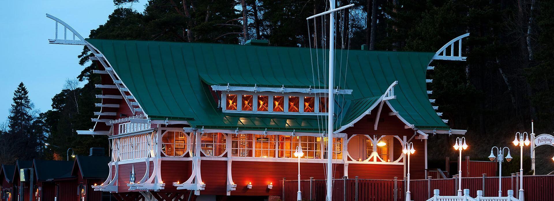 Julbord: ÅSS Paviljongen
