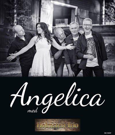 Fredagssvängen på Hullsta Gård  med Angelica och Holmstens Trio