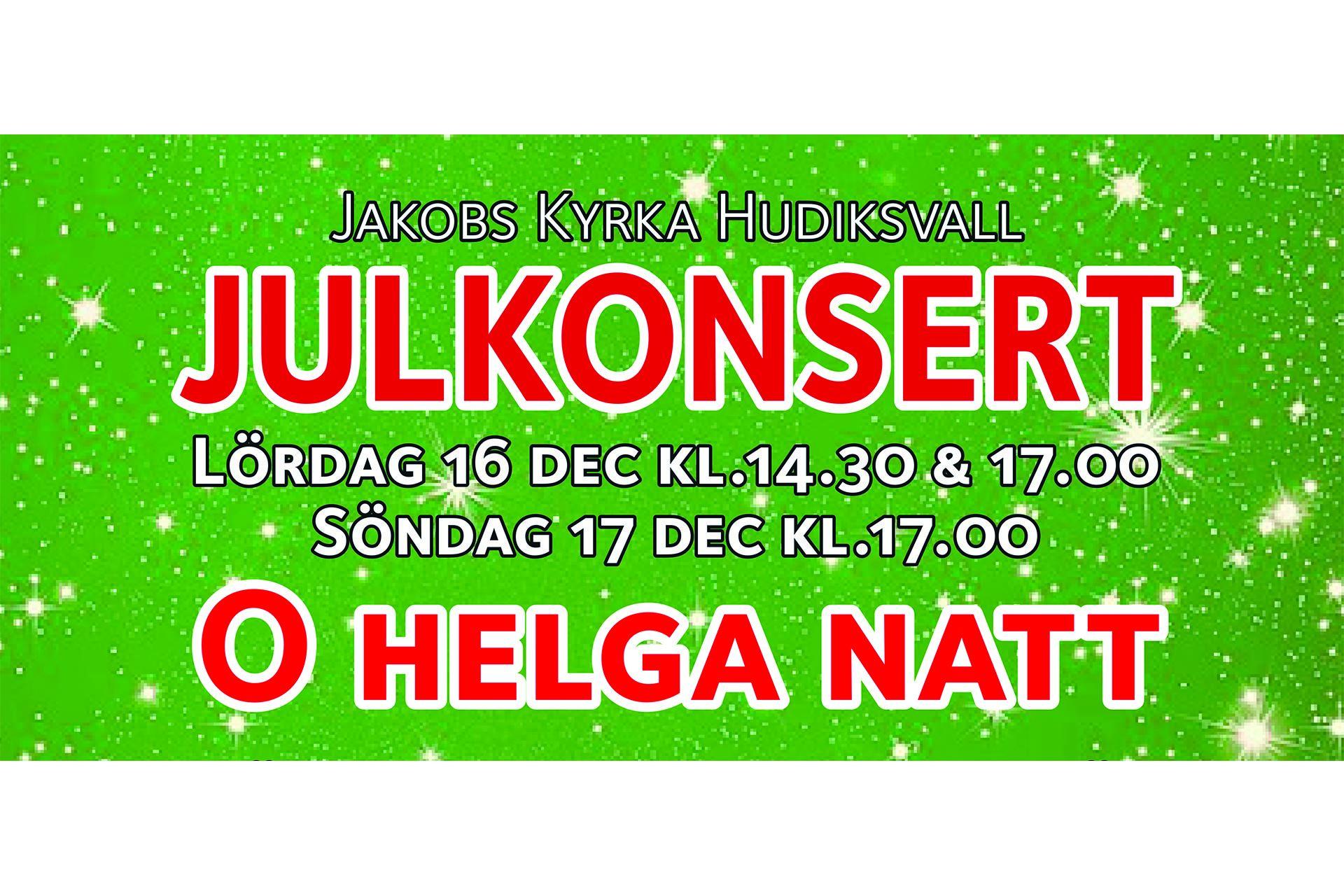 Julkonsert O Helga Natt