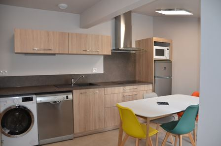 HPM145 - Appartement familial en ville à Bagnères-de-Bigorre – 2 chambres, 4 pers.