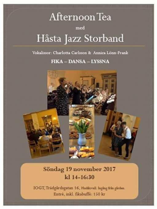 Afternoon tea med Håsta Jazz