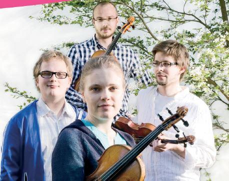 Kammarkonsert med finska stråkkvartetten KAMUS
