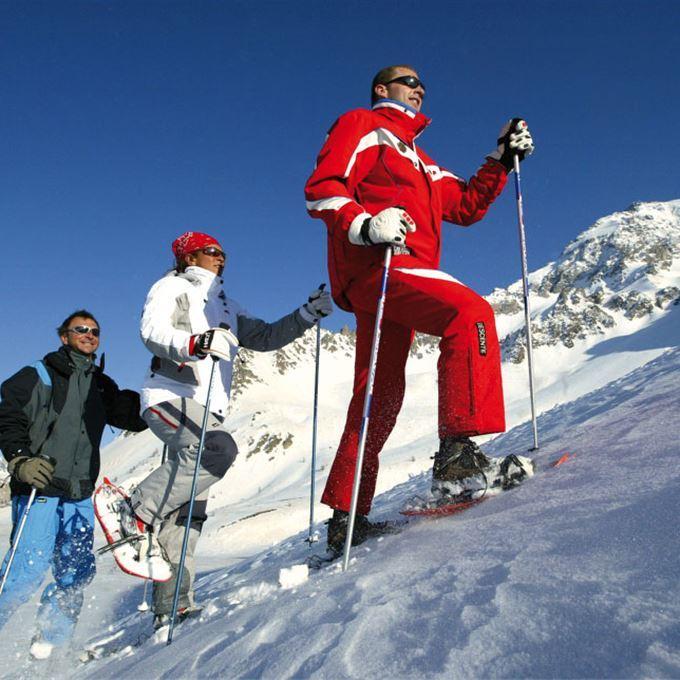 Snowshoe walks with the Ecole du Ski Francais (ESF)