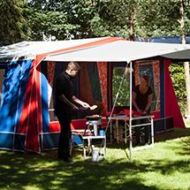 Hasle Camping udlejning telt