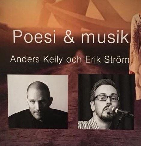 Poesi och musik i Gunnebo Folkets Hus