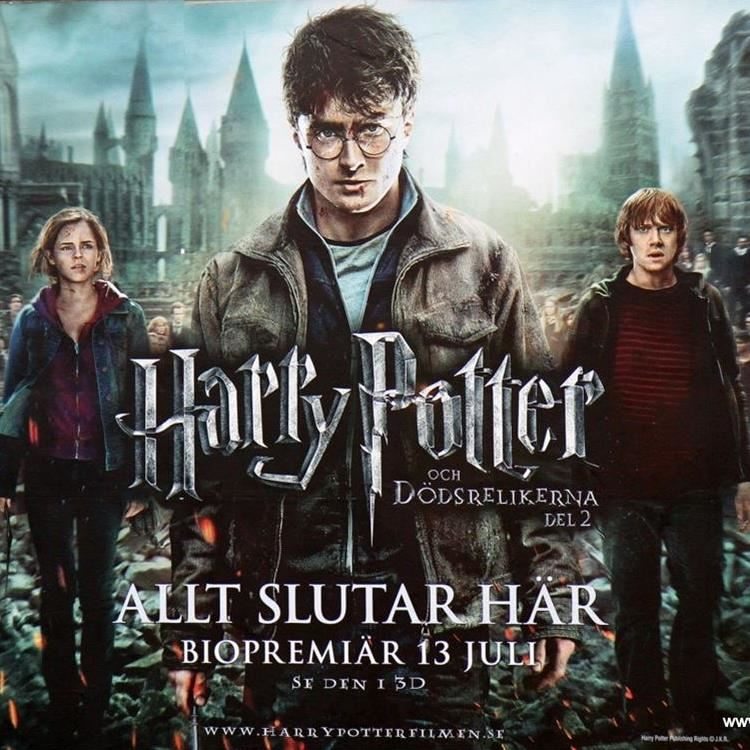Harry Potter filmomslag