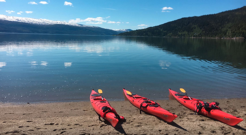 Grunnkurs padling Alteren- Rana Spesialsport 5 - 6 mai