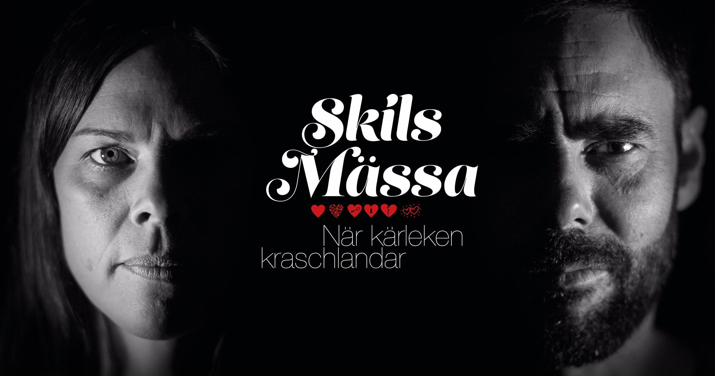© Copy: Östersunds teaterverkstad, Bild på ett par som ska skiljas
