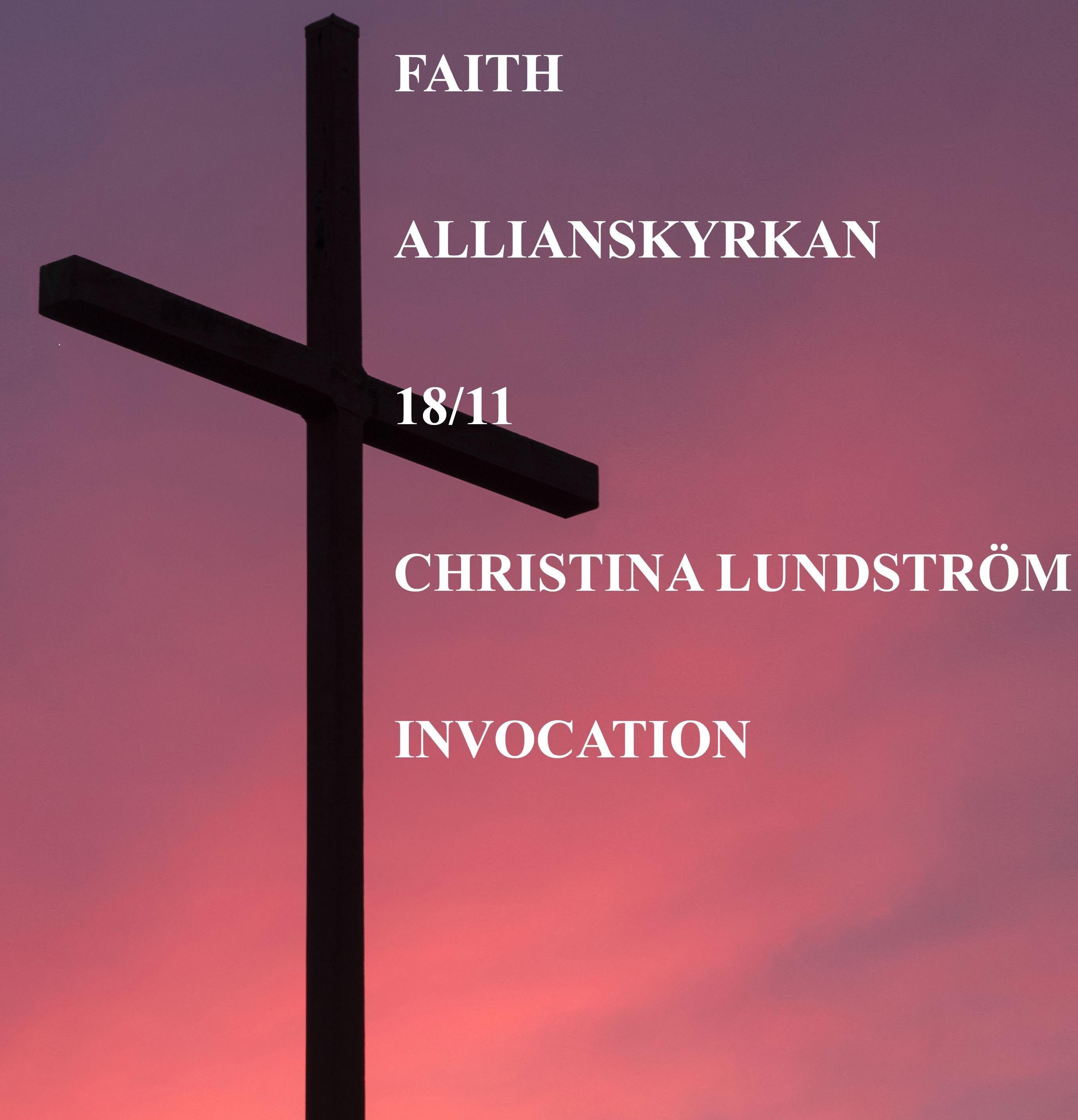 hoto by Aaron Burden on Unsplash, FAITH - Allianskyrkan