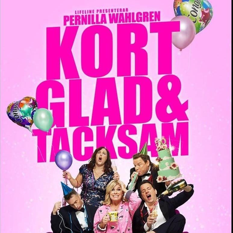 Humor: Pernilla Wahlgren - kort, glad och tacksam