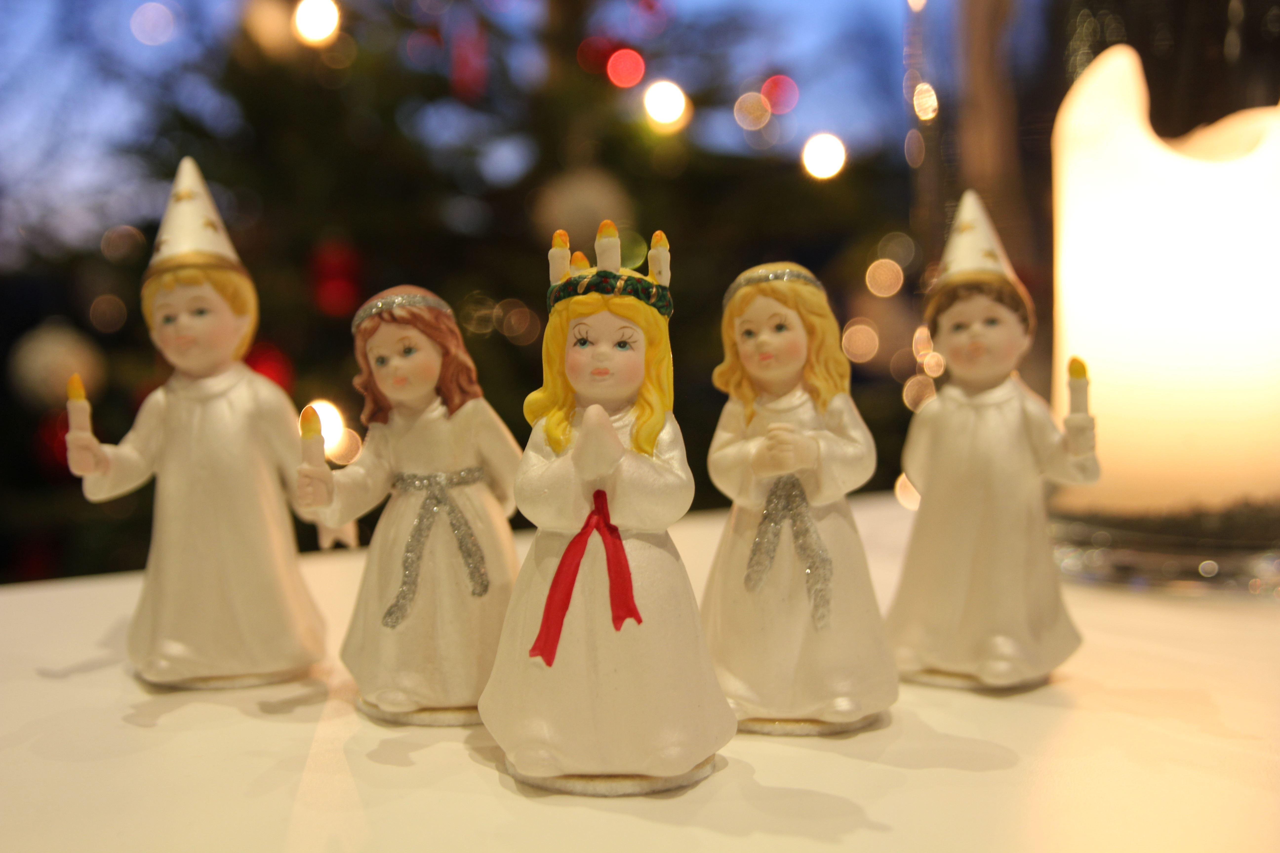 Luciatåg och julfest