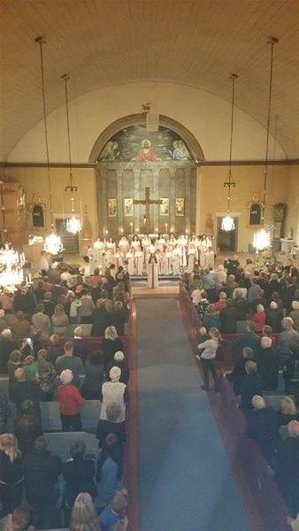 Lucia in der Berga Kirche