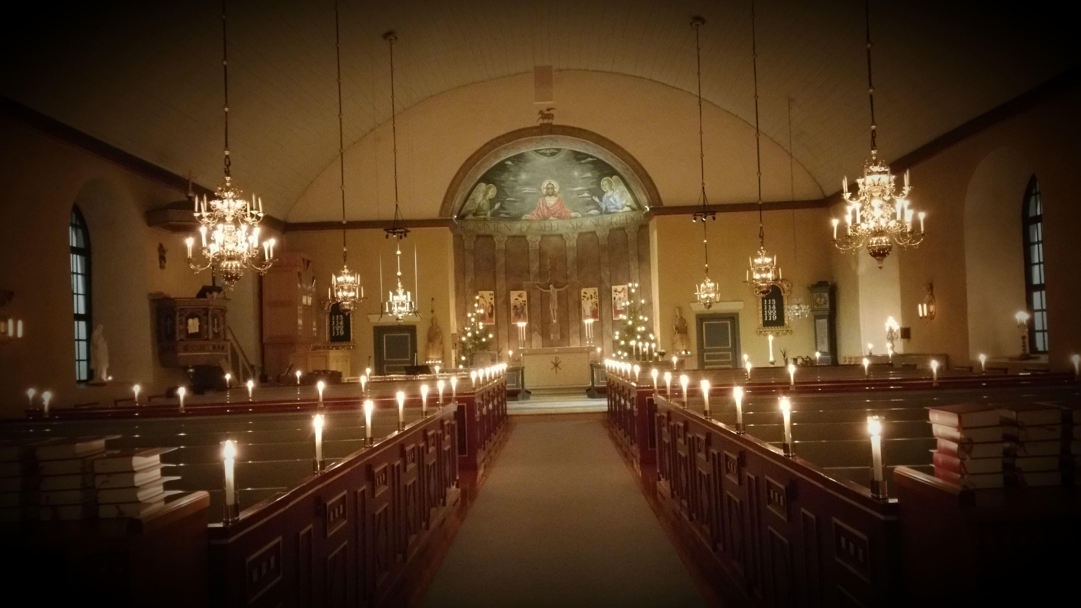 Fira Julen i Berga Kyrka
