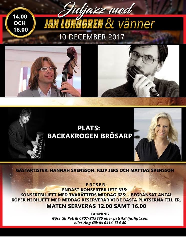 Juljazz med Jan Lundgren & vänner
