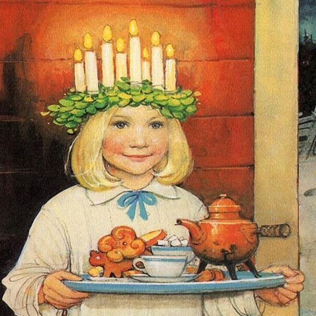 Sandvikens Lucia på Restaurang bolaget