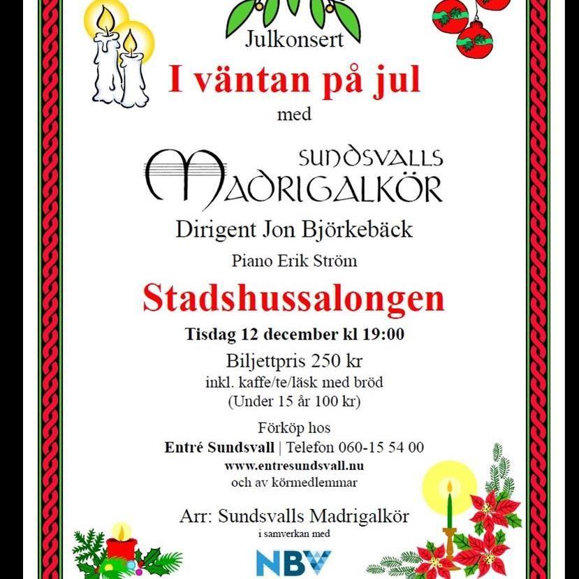 Konsert: I väntan på jul