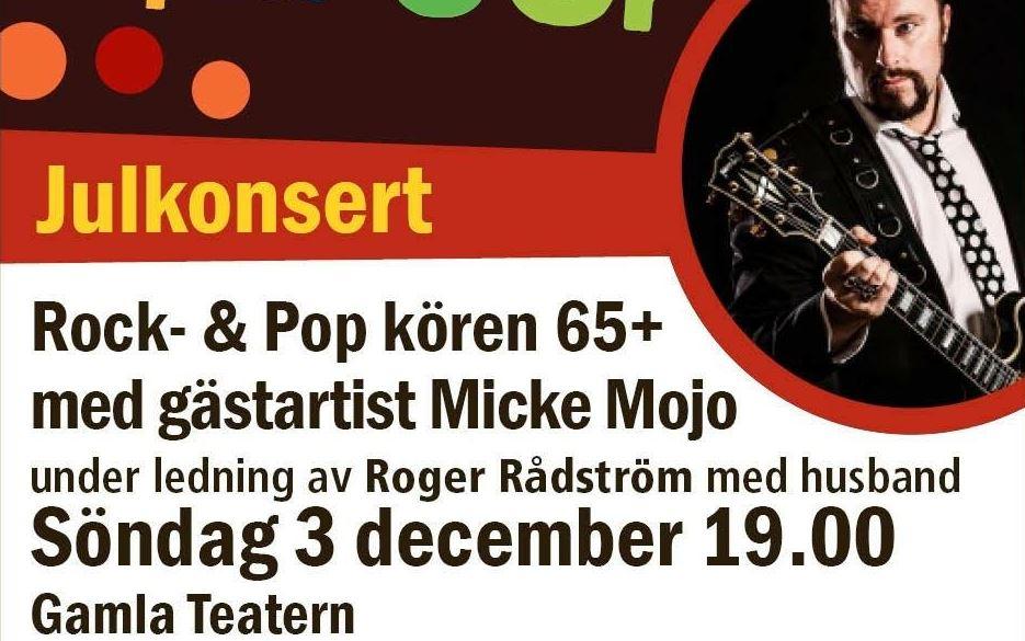 Julkonsert med Rock-& Pop kören 65 +