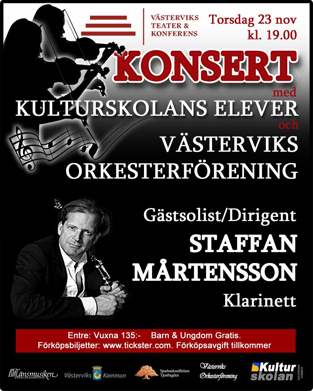 Konsert med Staffan Mårtensson