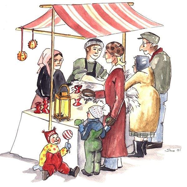 Julmarknad i Grannäs