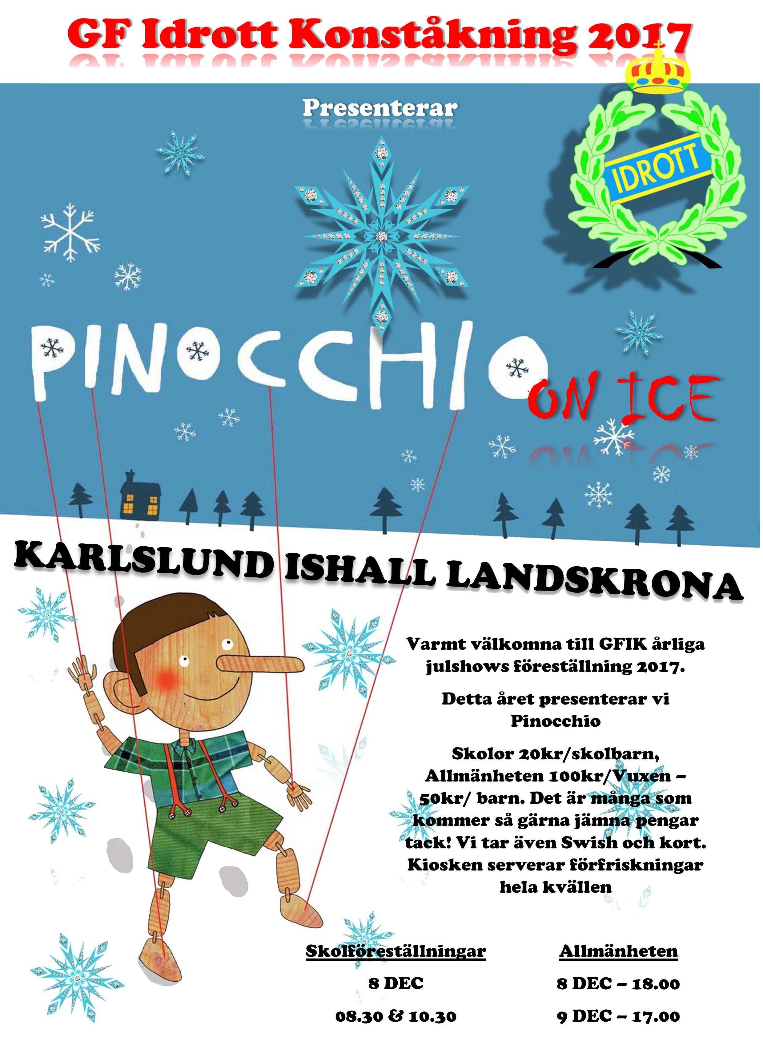 GF Idrott Konståknings julshow 2017