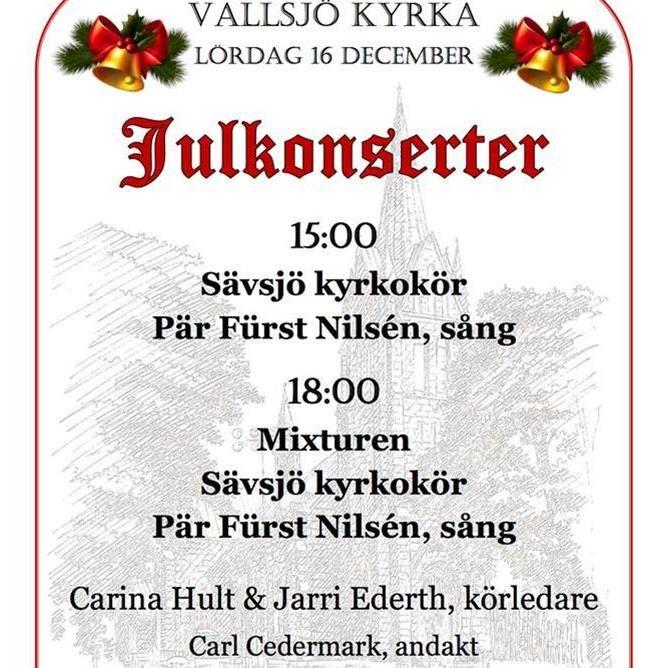Julkonsert i Vallsjö kyrka