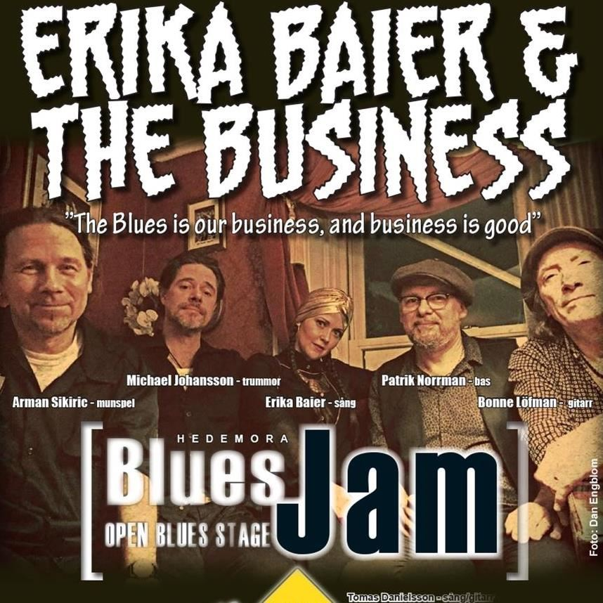Hedemora Blues Jam – Erika Baier and The Business