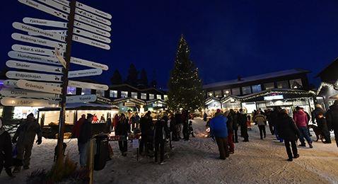 Jul på Idre Fjäll