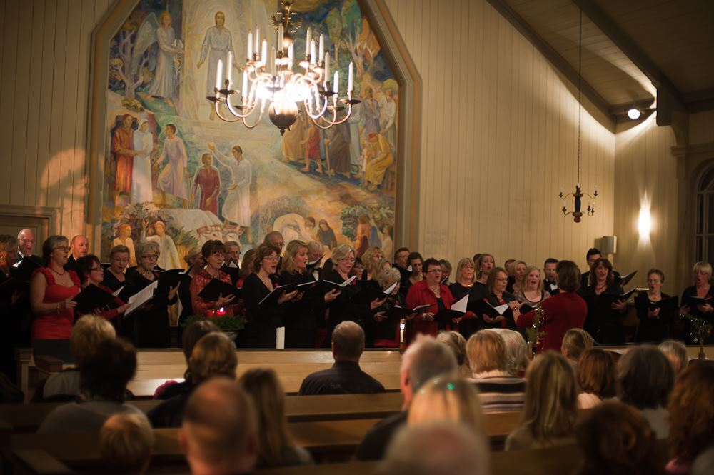 Marianne Lindgren,  © Marianne Lindgren, Julkonsert i Tärna kyrka