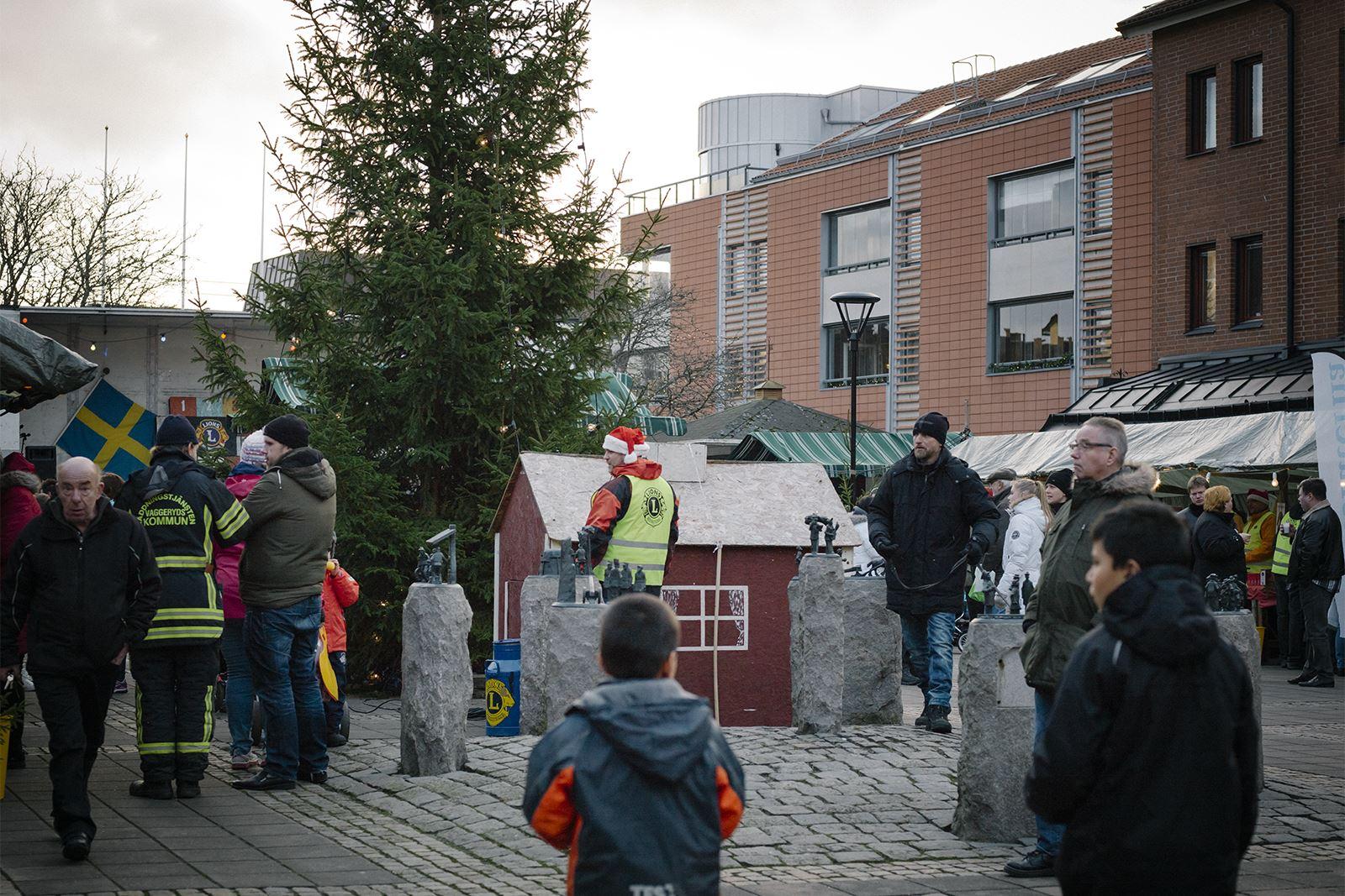 Julmarknad i Skillingaryd