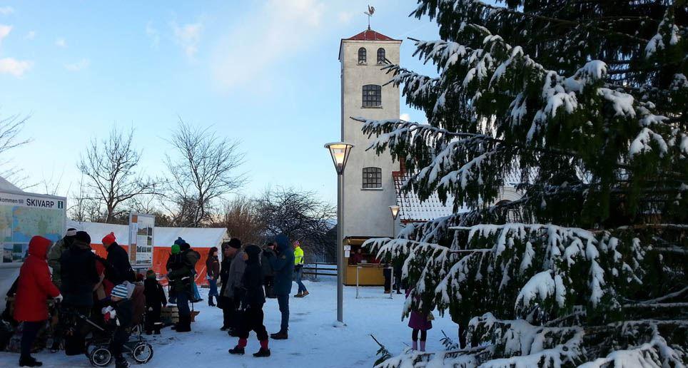 Jul i byn Skivarp