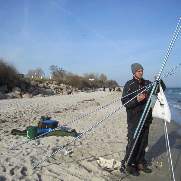 Drejby Strandcamping hytter