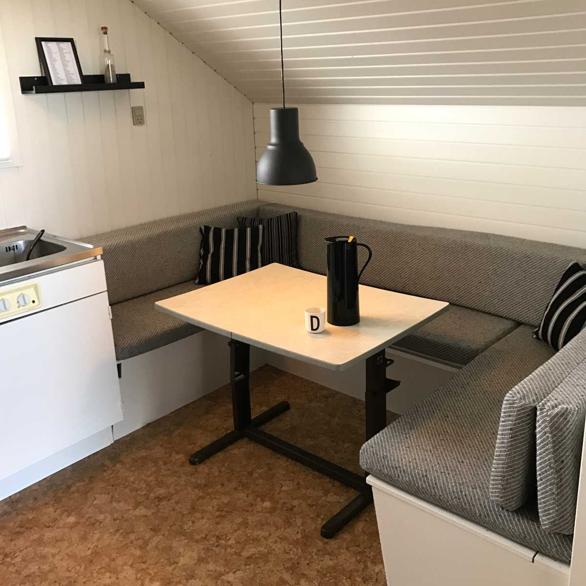 Universepackage at Drejby Strandcamping: in holiday cottage
