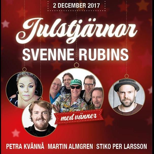 Årets Julfest - Julstjärnor Svenne Rubins med vänner